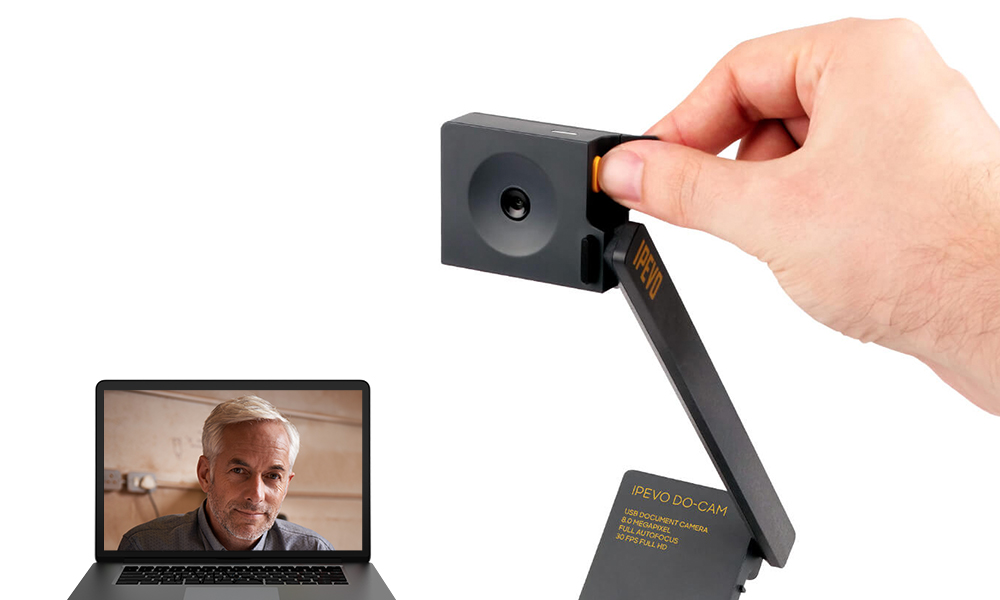 Flip your Document Camera into a Webcama